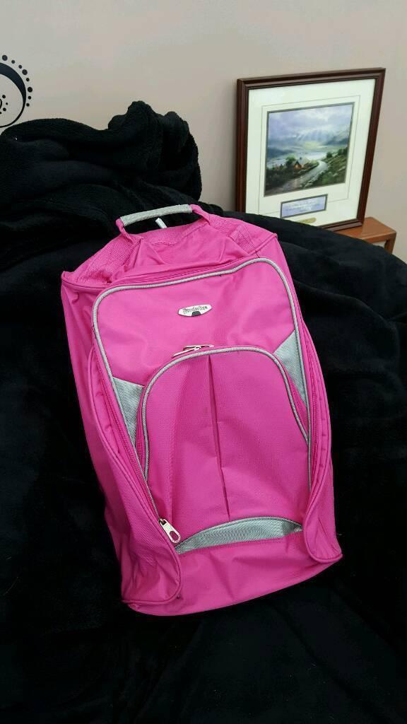 Pink small suitcase | in Ipswich, Suffolk | Gumtree