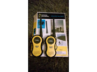 National Geographic Walkie Taklie x 2. Boxed.