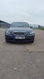 FOR SALE BMW E90 325D M SPORT GRAY SAT NAV BLUETOOTH