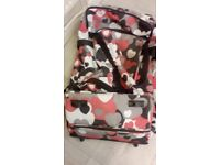 Large luggage case with wheels
