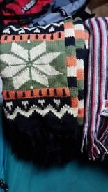 3x scarfs