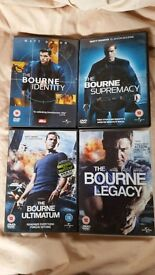 Bourne Identity Collection DVD