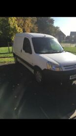 Berlingo Van Great Condition , Good Runner , 2 owners, 12 months MOT, ex birmingham council