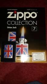 Union jack zippo