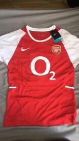 Arsenal shirt 02-04 henry *NEW WITH TAGS