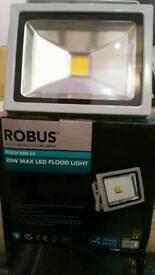 Robus Max 20w LED Floodlights IP65 Gray 3000k