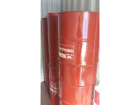 Maroon oil pan steal barrel can cut for wood burner incinerator we can also deliver