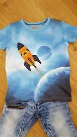 Bundle clothes from NEXT for boy in perfect condition age 3-4 {14 pieces}