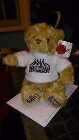 Beatles 25cm Abbey Road Bear Keel Toys New