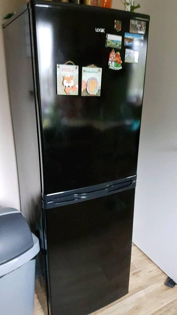 Black fridge freezer