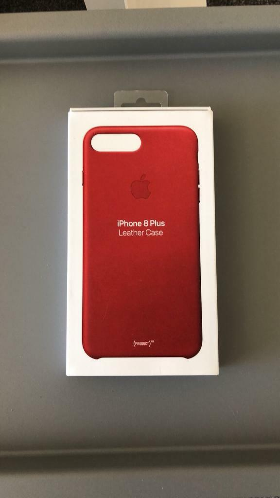 timeless design 51f88 02689 iPhone 8 Plus Leather Case (PRODUCT) RED | in Comiston, Edinburgh | Gumtree