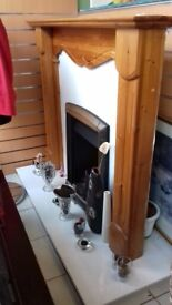 Fireplace (with hearth)