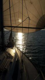 Sail boat yacht