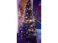 Brand new 6ft fibre optic christmas tree