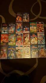 16 Walt Disney VHS Tapes
