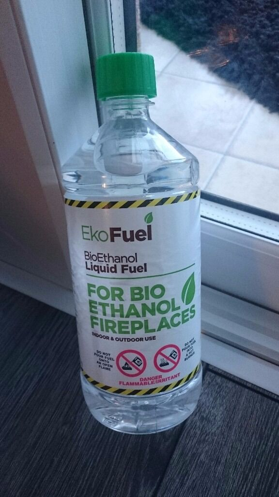 Bio Ethanol Fuel 10 x 1L bottlesin Norwich, NorfolkGumtree - Bio ethanol fuel for fireplaces High quality 10 x 1L bottles This bio ethanol fuel was formulated specifically for use on bio ethanol fireplaces and in bio ethanol burners collection only
