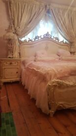 ITALIAN SILIK KINGSIZE BED