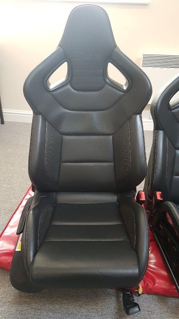 Audi Rs3 Wingback Recaro Bucket Seats Fits Audi S3 A3