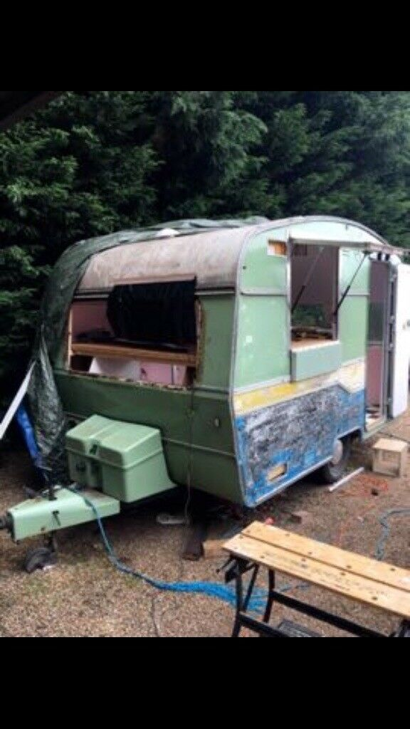 Astral Vintage Retro Caravan Converted Cafe Food Truck Project