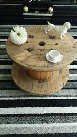 Hand made rustic style furniture made from recycled pallet wood
