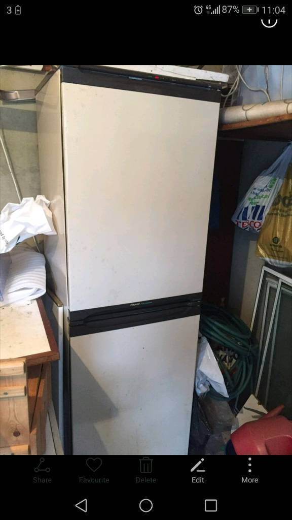 Hotpoint fridge freezer delivery available call now