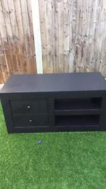Solid Wood tv unit in Black