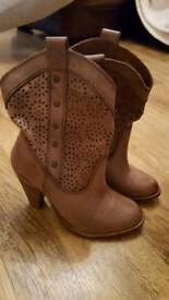 Next leather boots size 35.5