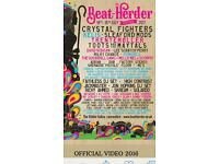 4x Beat Herder weekend camping tickets
