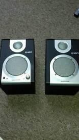 Ion desk rocker speakers