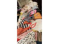 Bag of 0-3 girls clothes