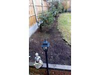Cheap garden cleaning,landscape, turfing, slabbing, artificial grass,