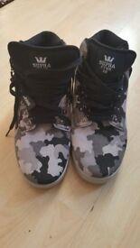 Supra Camouflage Men Lace Up shoe uk size 10/11