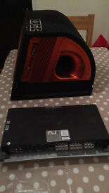 Subwoofer and Power Amplifier