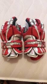 """Men's """"The Shocker"""" Warrior Lacrosse Gloves"""