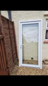 Upvc Toughened Door