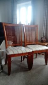 Reduced price Dining room/kitchen chairs