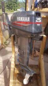 Yamaha 25hp 2 stroke outboard