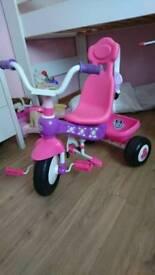 Girls Three wheel bike