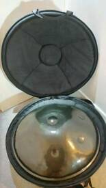 Hang pan steel drum and case Akebono scale