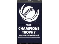 India v Pakistan ICC champions trophy 2017 edgebaston