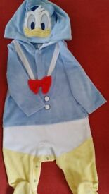 Donald Duck Baby Suit 9-12m