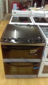ZANUSSI 60 cm Electric Ceramic Cooker - White ex display