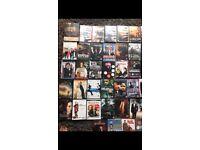 50 odd dvds