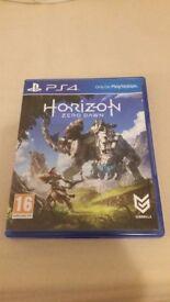 PS4 Horizon zero dawn used. Like new. Can post!