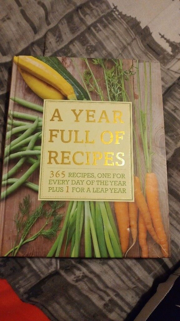 A year full of recipes cook book