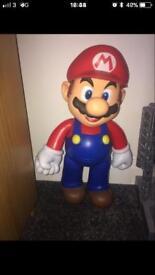 Large Mario figure