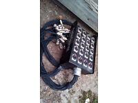 Wall-Mounting Patch Box – 16 XLR / 4 Balanced Jack