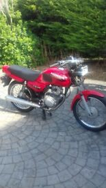 honda cg125 very clean low miles