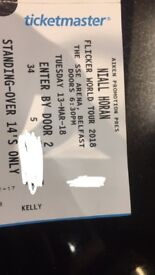 Niall horan standing ticket
