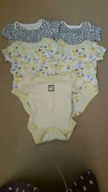 Baby girls vest 0-3 months